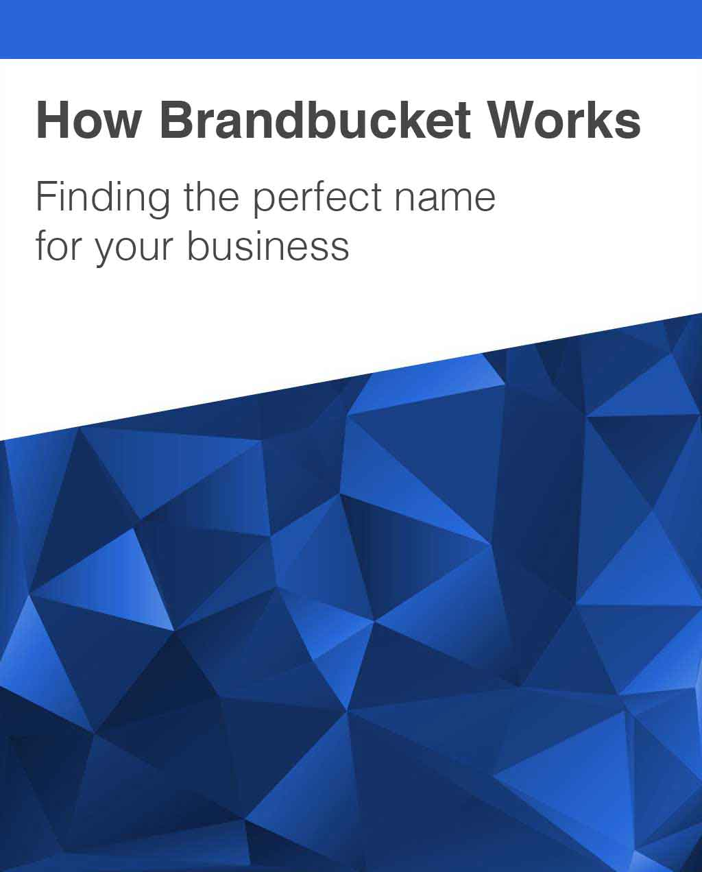 Find Business Name on BrandBucket