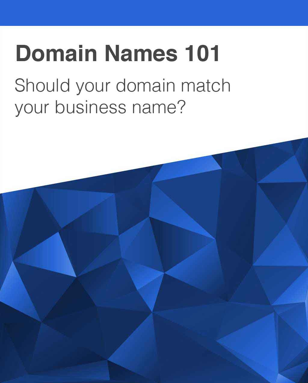 Domain Name and Business Name