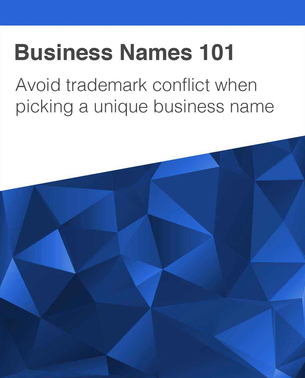 Trademark Conflicts and Business Naming