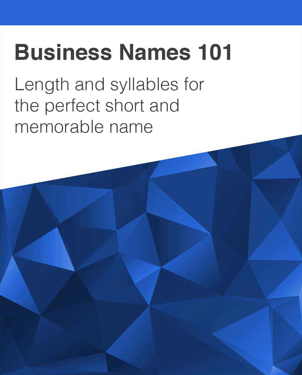 how to choose amazon business name