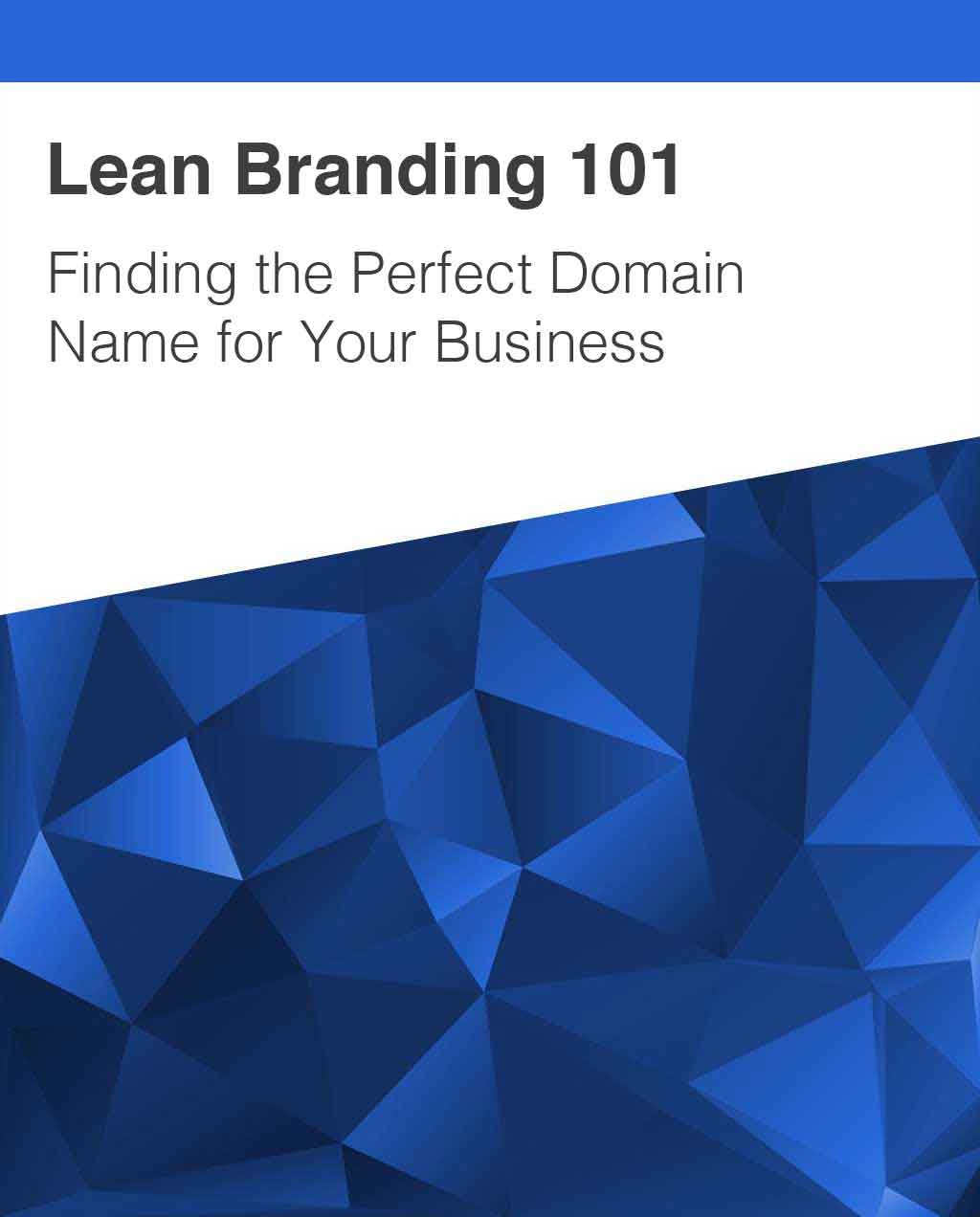 Lean Branding and Domain Names