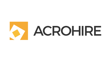 Logo for Acrohire.com