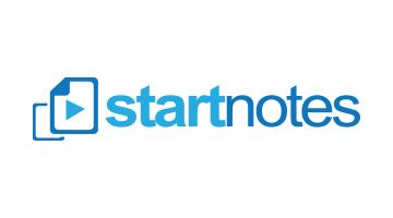 Logo for Startnotes.com