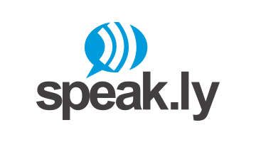 Logo for Speak.ly