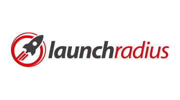 Logo for Launchradius.com