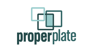 Logo for Properplate.com