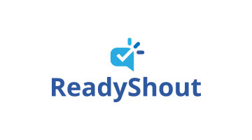 Logo for Readyshout.com