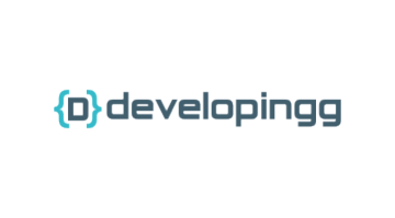 Logo for Developingg.com