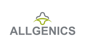 Logo for Allgenics.com