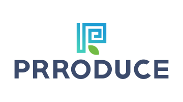 Logo for Prroduce.com
