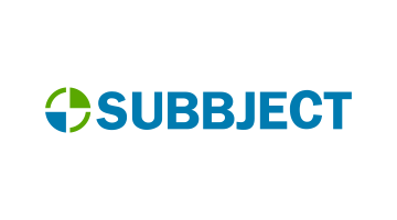 Logo for Subbject.com