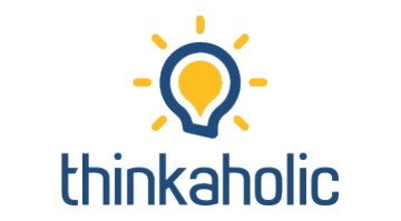 Logo for Thinkaholic.com