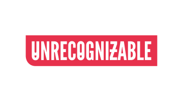 Logo for Unrecognizable.com