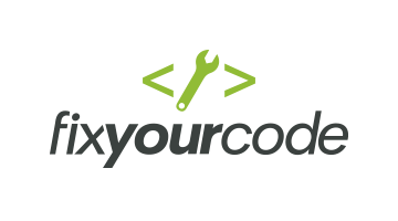 Logo for Fixyourcode.com