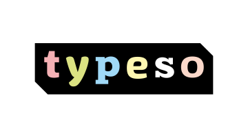 Logo for Typeso.com