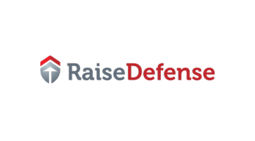 Logo for Raisedefense.com