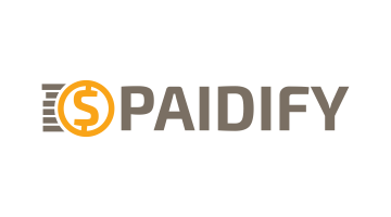Logo for Paidify.com