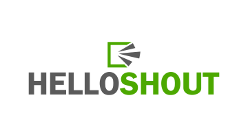 Logo for Helloshout.com