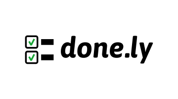 Logo for Done.ly