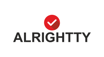 Logo for Alrightty.com