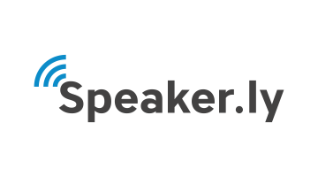 Logo for Speaker.ly