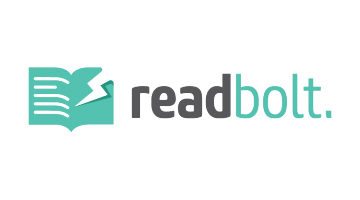 Logo for Readbolt.com