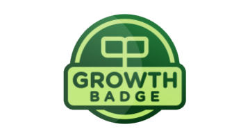 Logo for Growthbadge.com