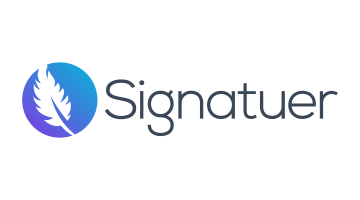 Logo for Signatuer.com