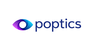 Logo for Poptics.com