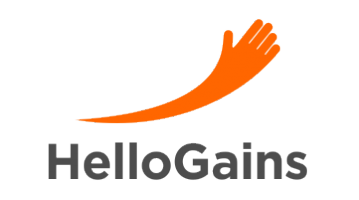 Logo for Hellogains.com
