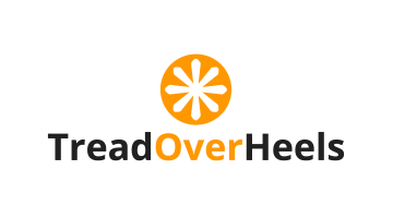 Logo for Treadoverheels.com