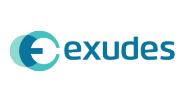 Logo for Exudes.com