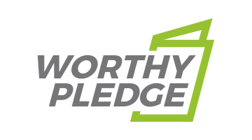 Logo for Worthypledge.com