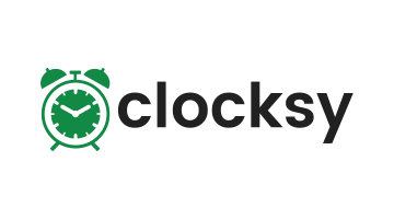 Logo for Clocksy.com