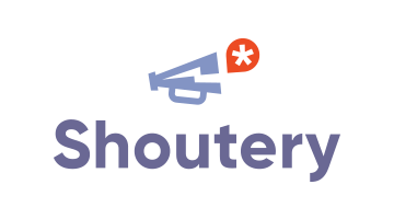 Logo for Shoutery.com