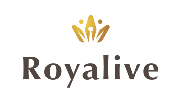 Logo for Royalive.com