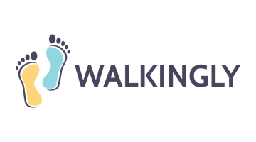 Logo for Walkingly.com