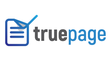 Logo for Truepage.com