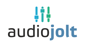 Logo for Audiojolt.com