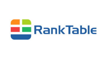 Logo for Ranktable.com