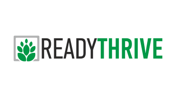 Logo for Readythrive.com