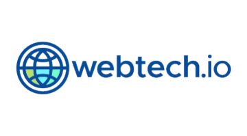 Logo for Webtech.io