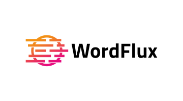 Logo for Wordflux.com