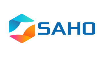 Logo for Saho.com