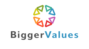 Logo for Biggervalues.com