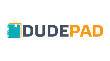 Logo for Dudepad.com