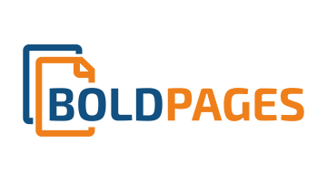 Logo for Boldpages.com