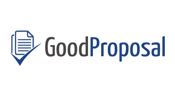 Logo for Goodproposal.com