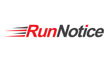 Logo for Runnotice.com