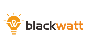 Logo for Blackwatt.com
